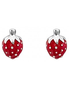 Mein-juwel - DC165de - Sterling silver Superb strawberry for a little girl earring