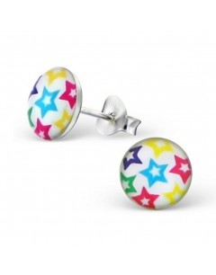 Mein-juwel - H19693de - Sterling silver star multicolor earring