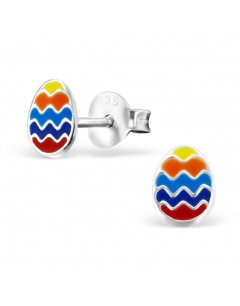 Mein-juwel - H21710de - Sterling silver egg multicolor earring