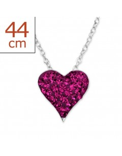 Mein-juwel - H28079rde - Sterling silver heart Necklace
