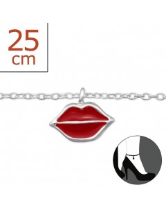 Mein-juwel - H1305zde - Sterling silver kisses Chain ankle