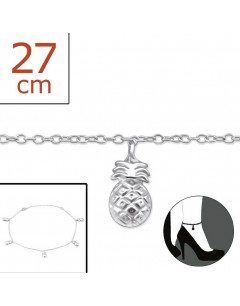 Mein-juwel - H1580zde - Sterling silver pineapple Chain ankle