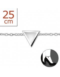 Mein-juwel - H2542zde - Sterling silver triangle Chain ankle