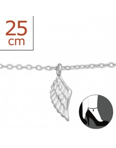 Mein-juwel - H5422zde - Sterling silver wing angel Chain ankle